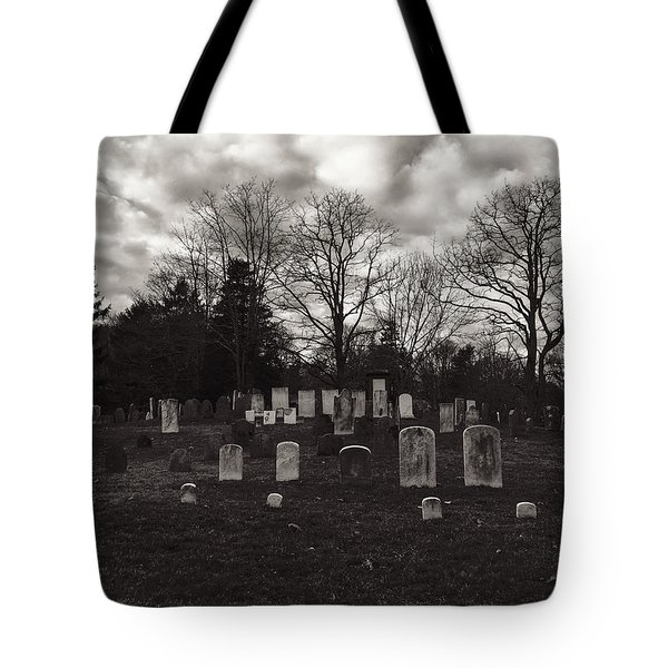 Old Town Cemetery , Sandwich Massachusetts  Tote Bag