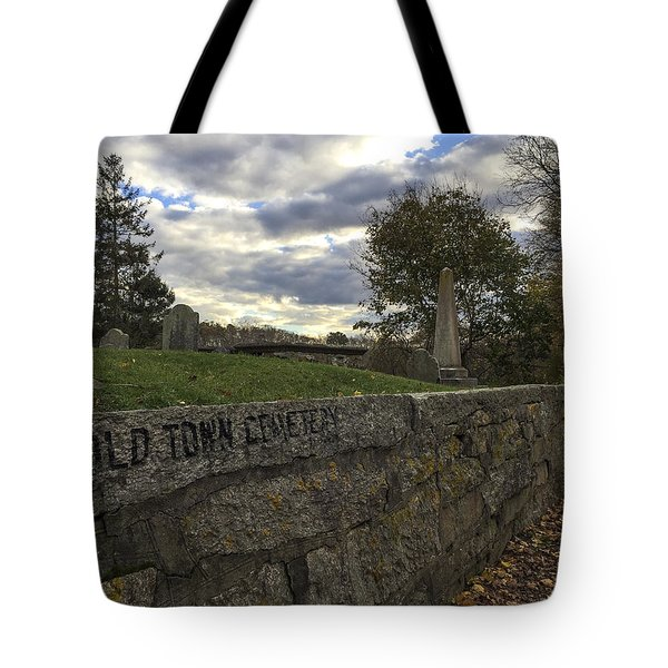 Old Town Cemetery Tote Bag