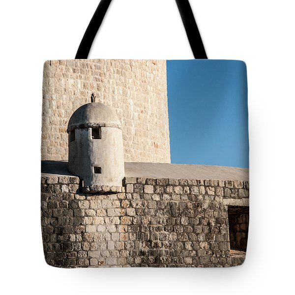 Tote Bag featuring the photograph Old Town Dubrovnik by Silvia Bruno
