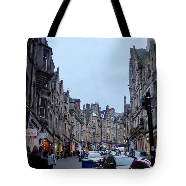 Old Town Edinburgh Tote Bag