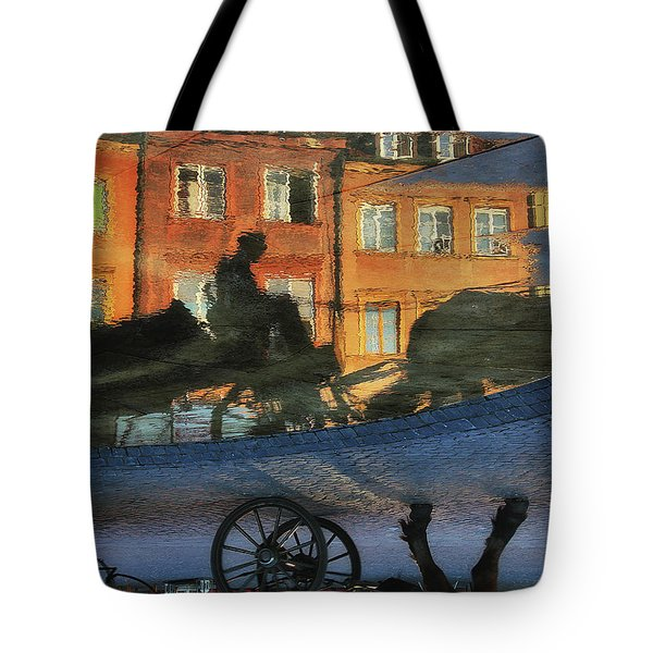 Old Town In Warsaw #12 Tote Bag