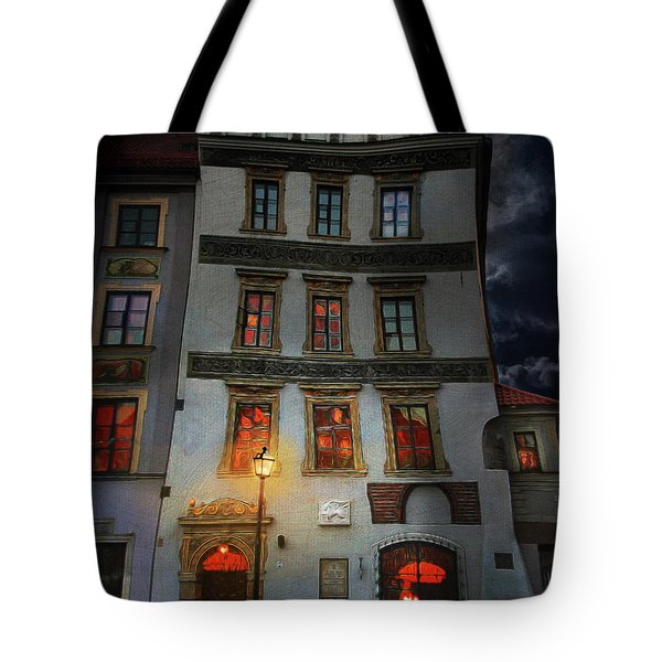 Old Town In Warsaw #17 Tote Bag