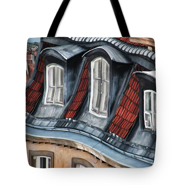 Old Town In Warsaw #19 Tote Bag