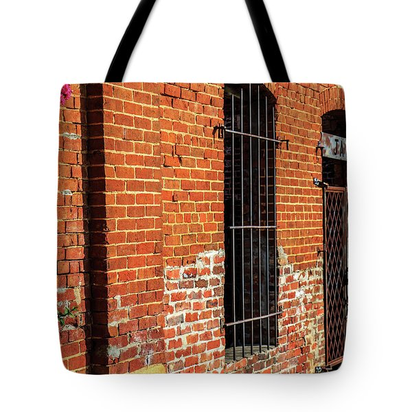 Tote Bag featuring the photograph Old Town Jail by Doug Camara