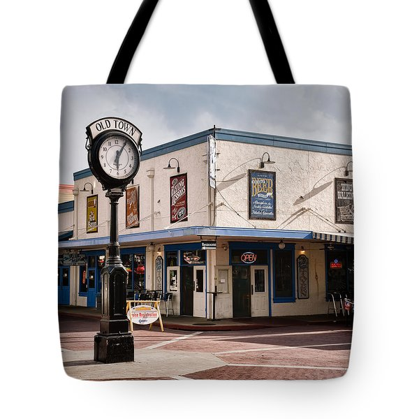 Old Town - Kissimmee - Florida Tote Bag by Greg Jackson