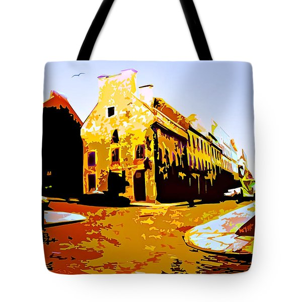 Old Town Montreal Tote Bag