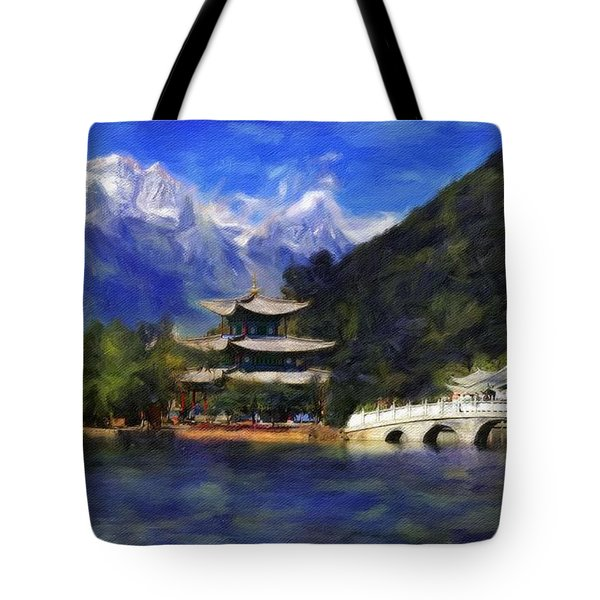 Old Town Of Lijiang Tote Bag