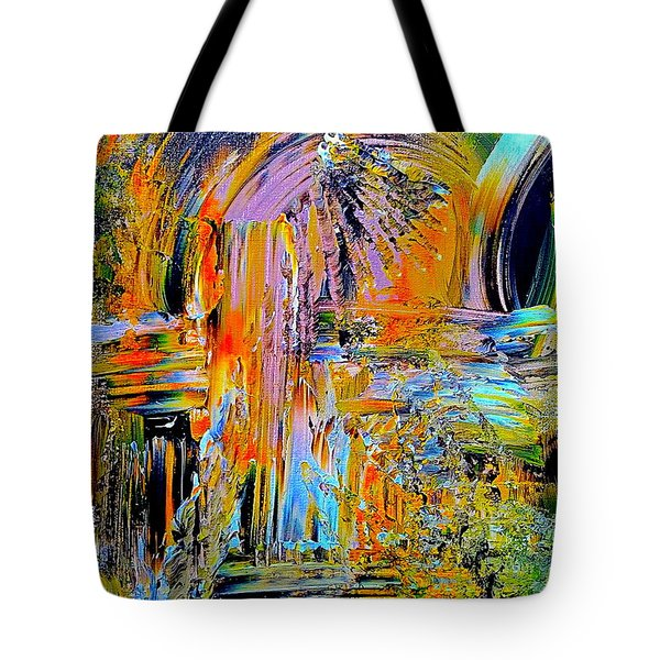 Old Town Of Nice 2 Of 3 Tote Bag