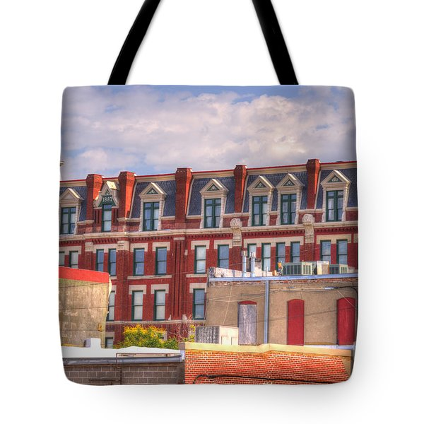 Old Town Wichita Kansas Tote Bag by Juli Scalzi