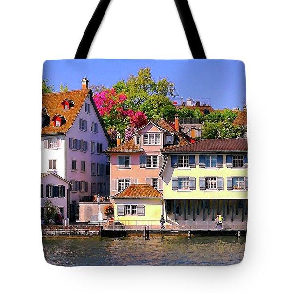 Old Town Zurich, Switzerland Tote Bag