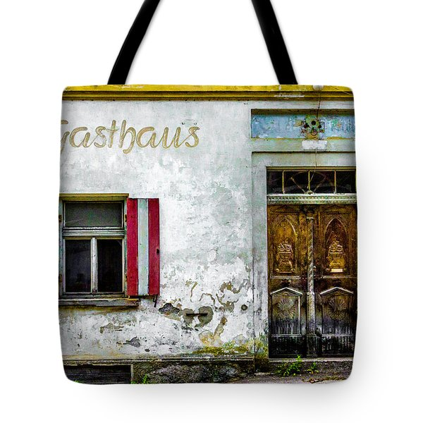 Old Traditional Austrian Tavern Tote Bag