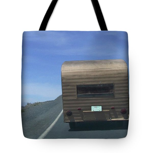 Old Trailer Tote Bag