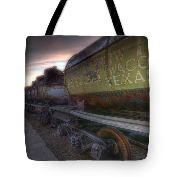 Old Train - Galveston, Tx 2 Tote Bag