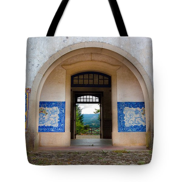 Old Train Station Tote Bag by Edgar Laureano