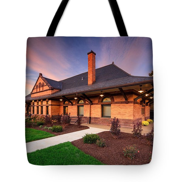Old Train Station Tote Bag