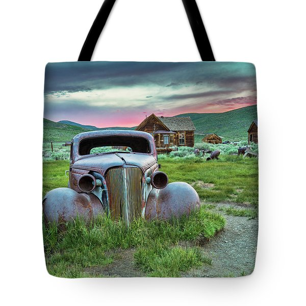Old Truck In Bodie Tote Bag