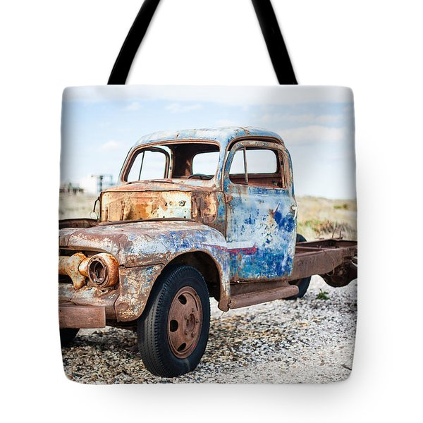 Tote Bag featuring the photograph Old Truck by Silvia Bruno