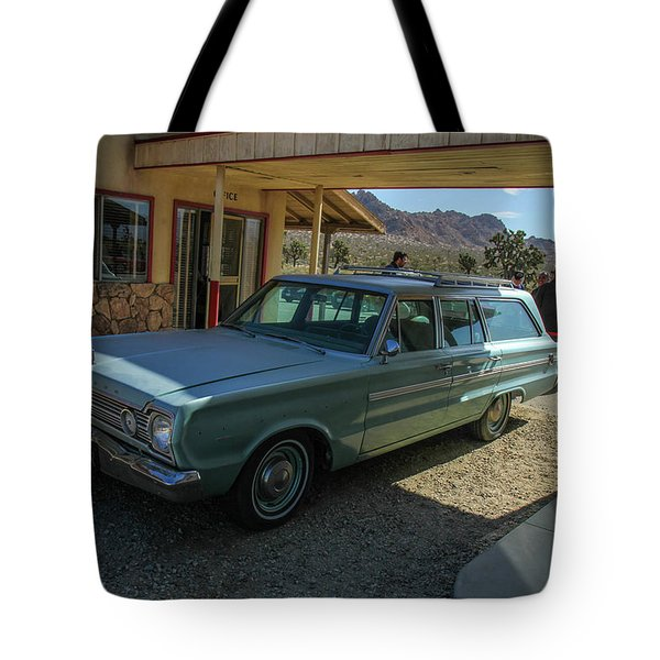 Old Wagon Tote Bag by Robert Hebert