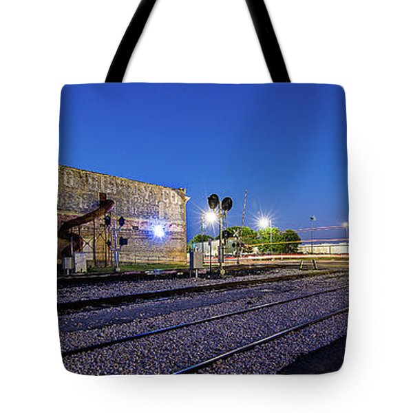 Old Wall Signage - San Antonio  Tote Bag by Micah Goff