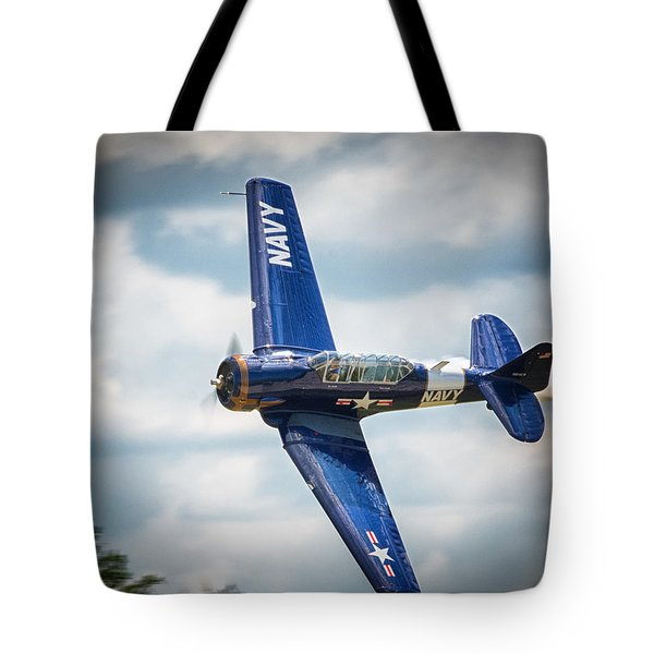 Old Warbird Trainer Tote Bag
