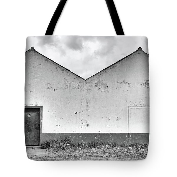 Old Warehouse Exterior Tote Bag