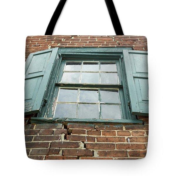 Old Warehouse Window Tote Bag