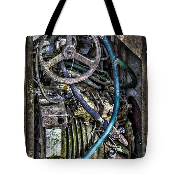 Old Washing Machine Works Tote Bag