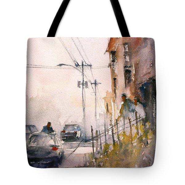 Old Wautoma Hotel Tote Bag