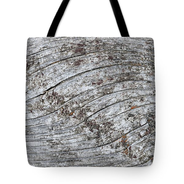 Old Weathered Wood Abstract Tote Bag