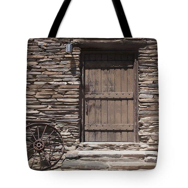 Old West Tote Bag by Kelley King