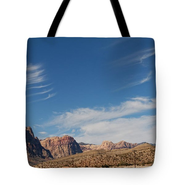 Old West Poles Tote Bag