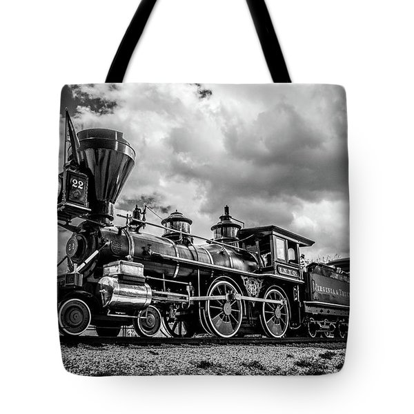 Old West Train Tote Bag