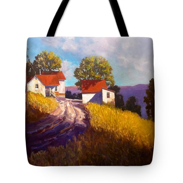 Old Willy's Barn Tote Bag