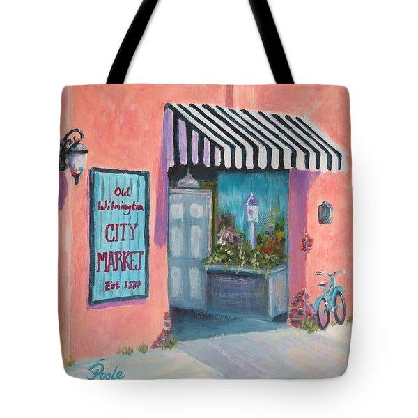 Old Wilmington City Market  Tote Bag