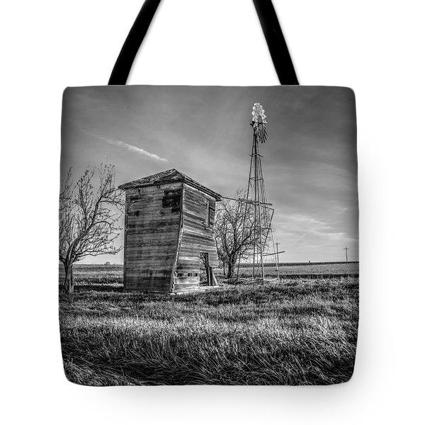 Old Windpump Tote Bag