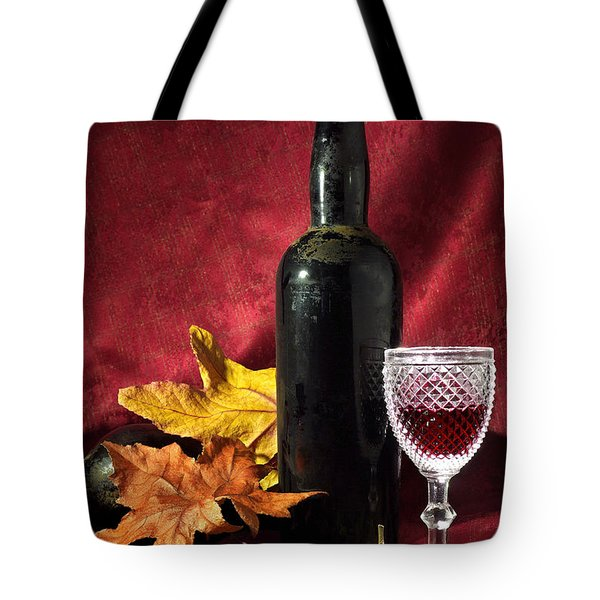 Old Wine Bottle Tote Bag by Carlos Caetano