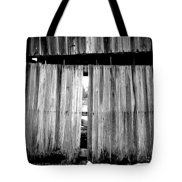 Old Wood Tote Bag by Ed Smith