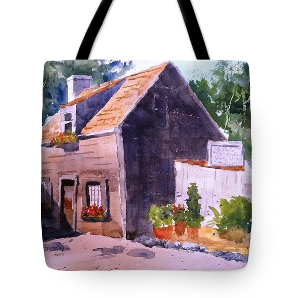 Old Wooden School House Tote Bag