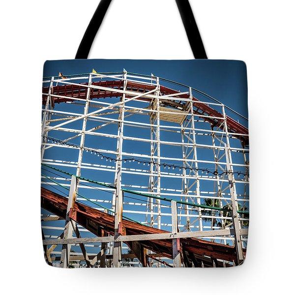 Old Woody Coaster Tote Bag