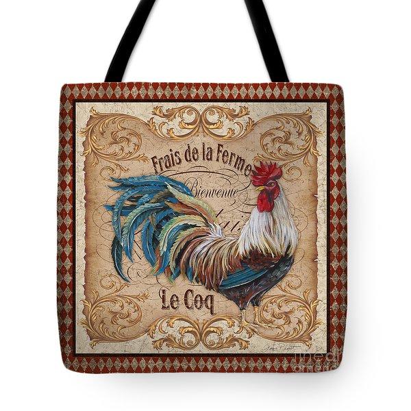 Old World Le Coq-jp3091 Tote Bag