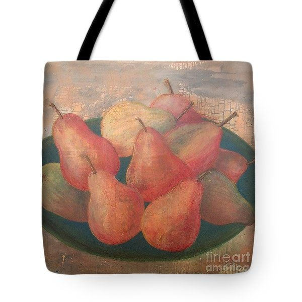 Old World Pears Tote Bag