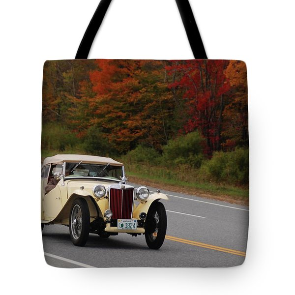 Tote Bag featuring the photograph Old Yeller 8168 by Guy Whiteley