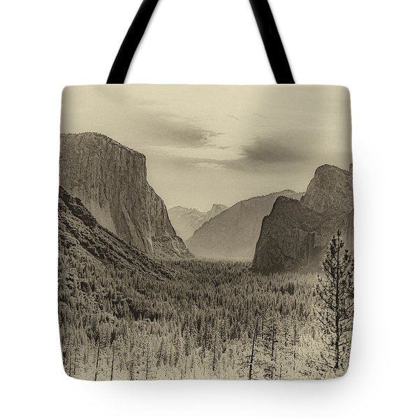 Tote Bag featuring the photograph Old Yosemite by Phil Abrams