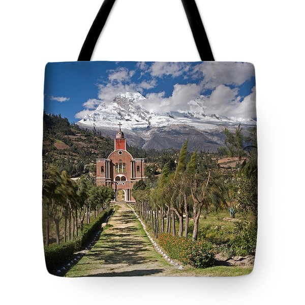Old Yungay Campo Santo Tote Bag by Aivar Mikko