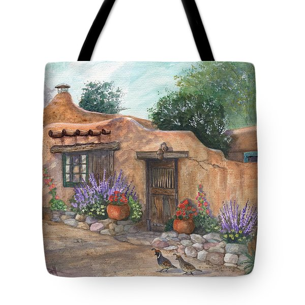 Old Adobe Cottage Tote Bag