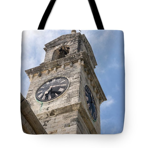 Olde Time Clock Tote Bag
