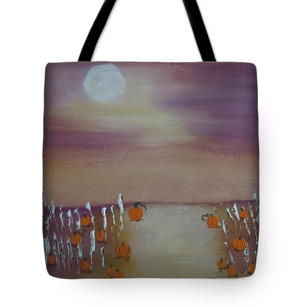 Olde Tyme Pumpkin Patch And Maze Tote Bag