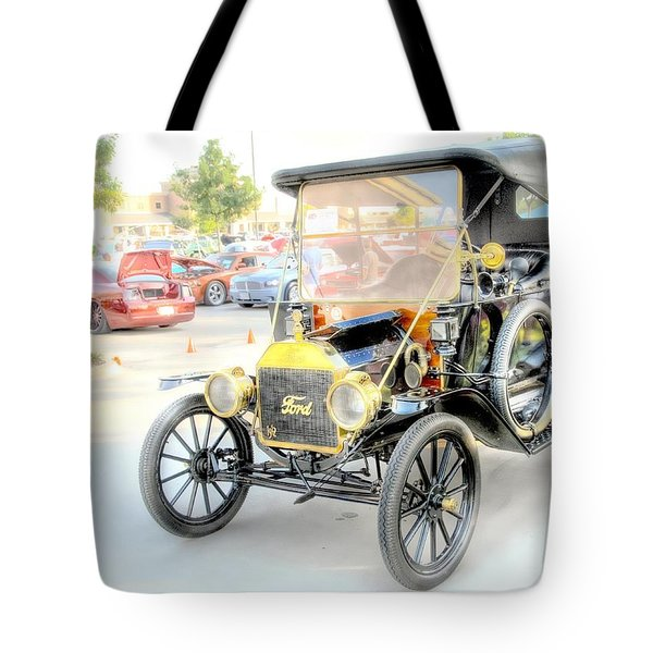 Tote Bag featuring the photograph Oldie But Goodie by Dyle   Warren