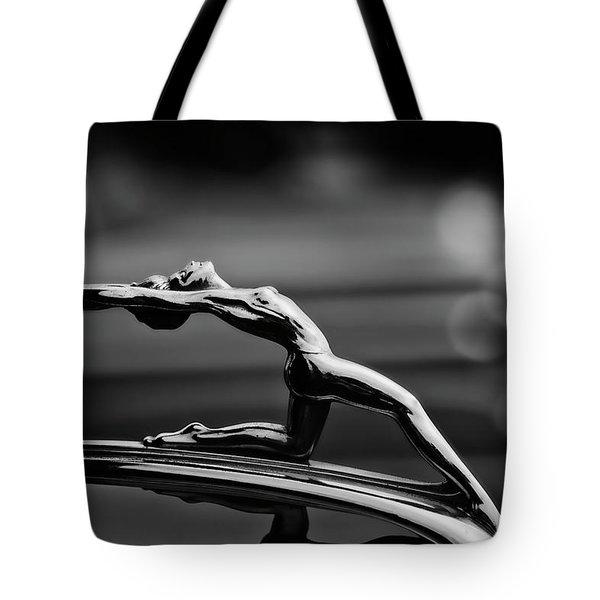 Oldsmobile 1933 Hood Ornament Tote Bag