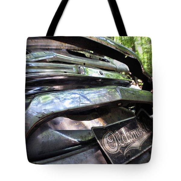 Oldsmobile Bumper Detail Tote Bag